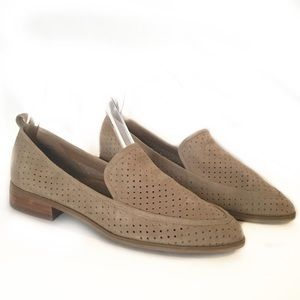 Susina Keegan suede pointed toe perforated shoe 7